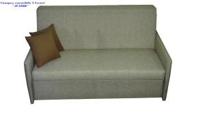 Canapea 2 locuri extensibila