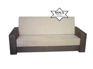 Canapea extensibila cu saltea Nova
