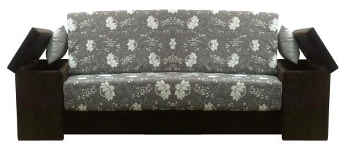 Canapele extensibile cu spatiu depozitare in brate.