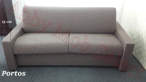 Canapea ribalta cu saltea 18 cm