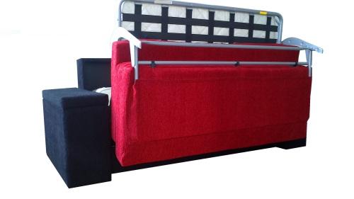 Canapele dehusabile cu saltea inclusa : Nova.