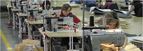 Sectie productie croitorie.