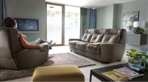 Alto - Canapea extensibila cu fotoliu relaxare.