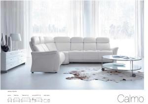 Calmo - Canapele din piele - Home cinema.