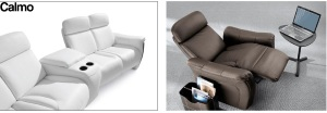 Canapele recliner living, home cinema.