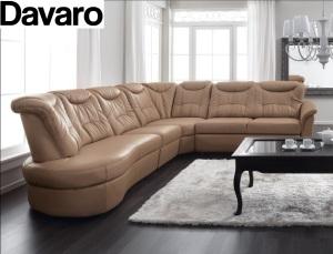Davaro - Canapele piele clasice modulare.