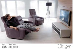 Ginger - Canapele relax - Home Cinema.