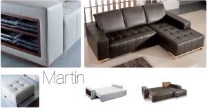 Martin - Canapele extensibile piele.