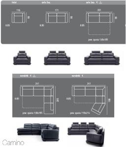 Canapele moderne modulare - Camino.