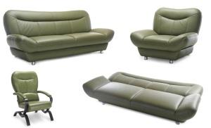Canapele din piele extensibile - Eddy.