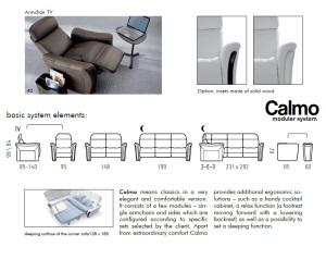 Canapele relaxare modulare - Calmo.