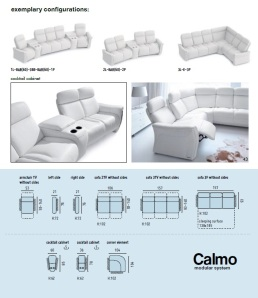 Canapele relaxare living room - Calmo.