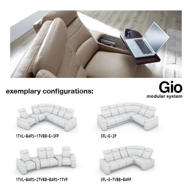 Canapele modulare piele : Gio. | Canapele, coltare din piele sau ...