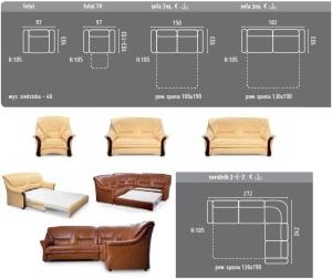 Canapele, coltare clasice din piele - cassino.