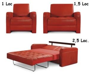Canapele mici extensibile - Yariz.