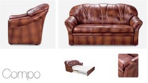 Canapele extensibile de piele - Compo.