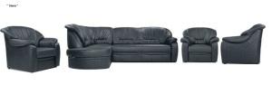 Set canapele din piele - Stena.