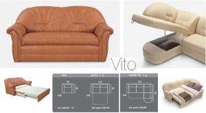 Coltare extensibile de piele - Vito.