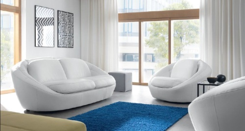 canapele de piele moderne