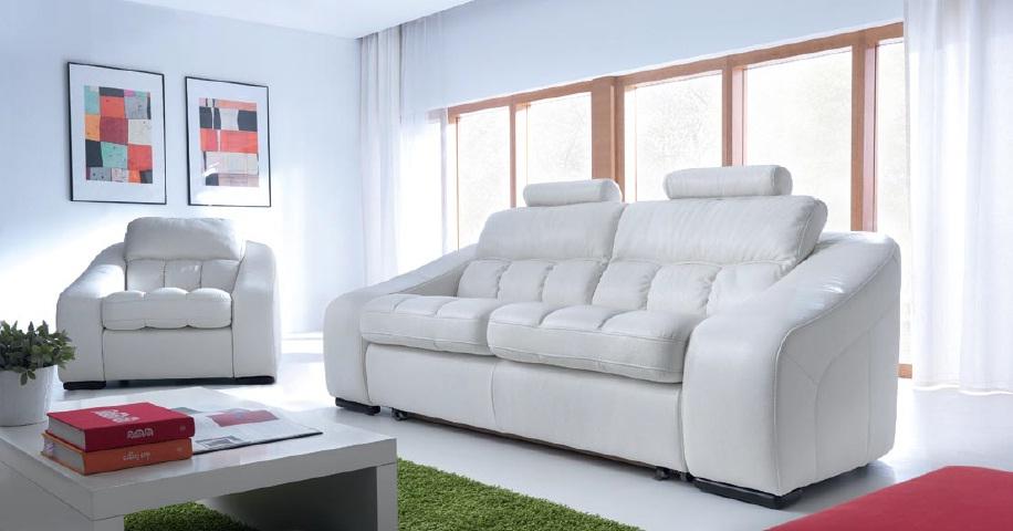 Canapele extensibile din piele Dolce.