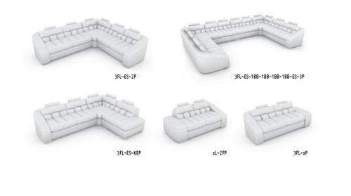 canapele modulare din piele