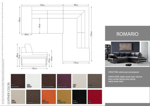 Detalii si dimensiunii coltare living 2013 - Romario.