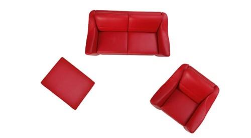 Seturi canapele modulare : Bianco.