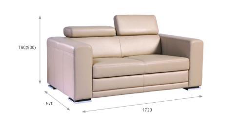 Canapele din piele 2 locuri : Maxx.