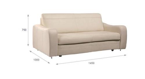Canapea extensibila cu brate - Meander.