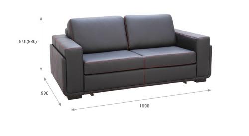 Canapele din piele - Marrone.