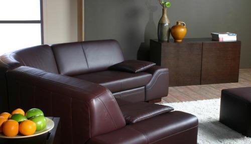 Coltare din piele living room - Mateo.