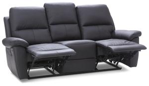Canapea 3 locuri functie relax Twins
